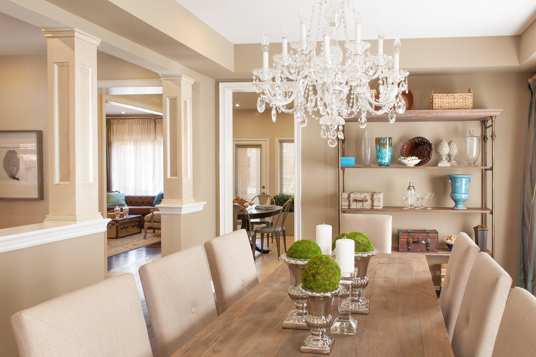 Geranium Homes Model Home Dining Room