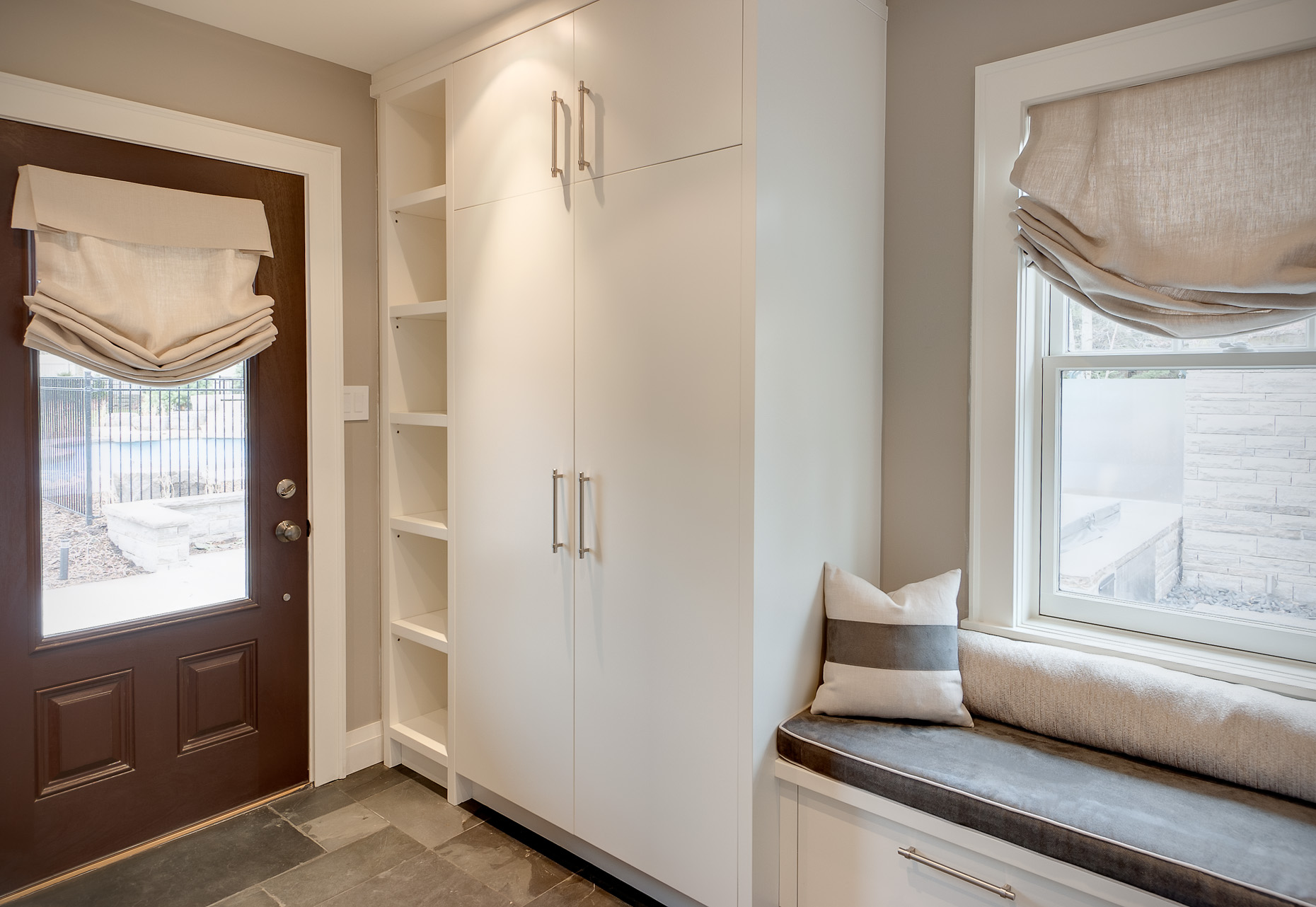 Contemporary Mudroom