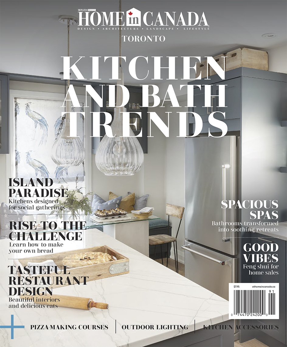 Toronto Kitchen And Bath 2019 Magazine Cover